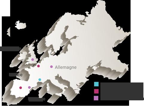 amd map présence internationale