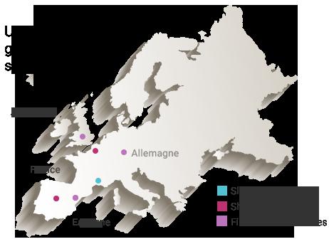 Position géographique amd