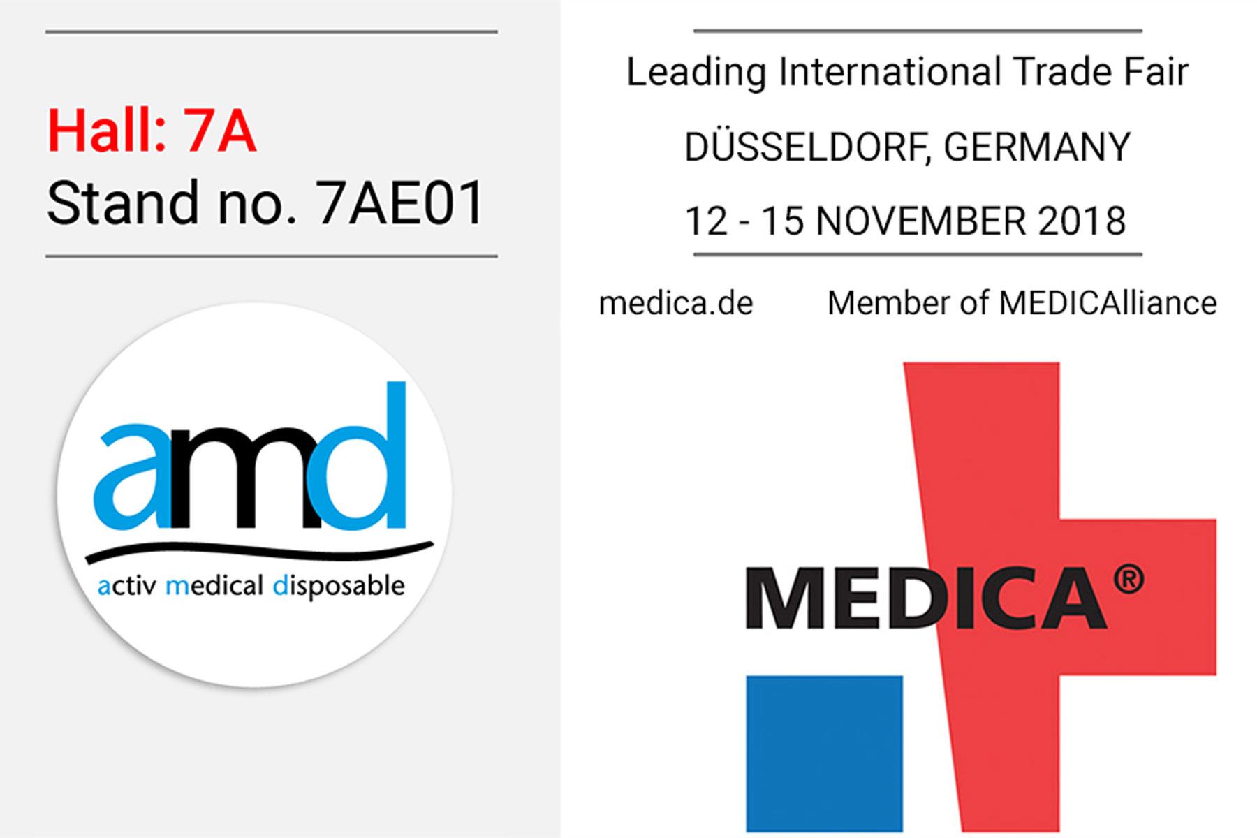 International MEDICA trade fair - AMD - Activ Medical Disposable