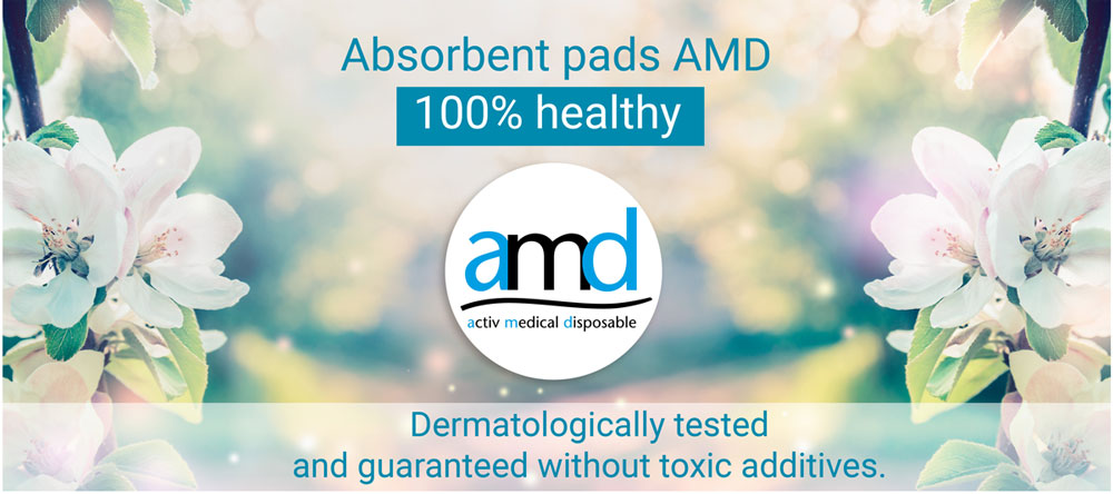amd - absorbent pads 100% healthy
