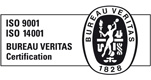 Certificate ISO-9001-14001