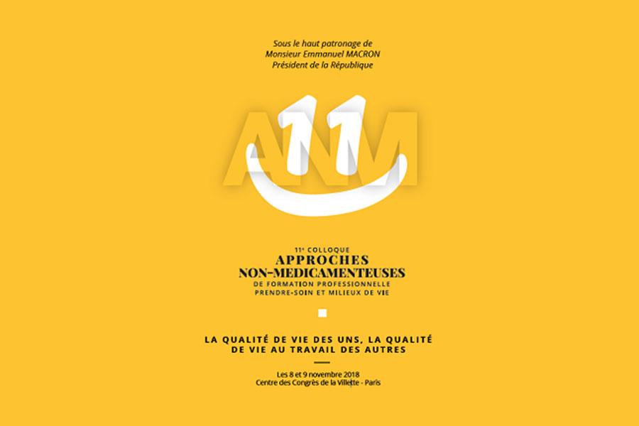 11ème colloque sur les approches non-médicamenteuses