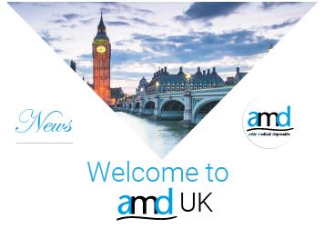 Bienvenue amd UK