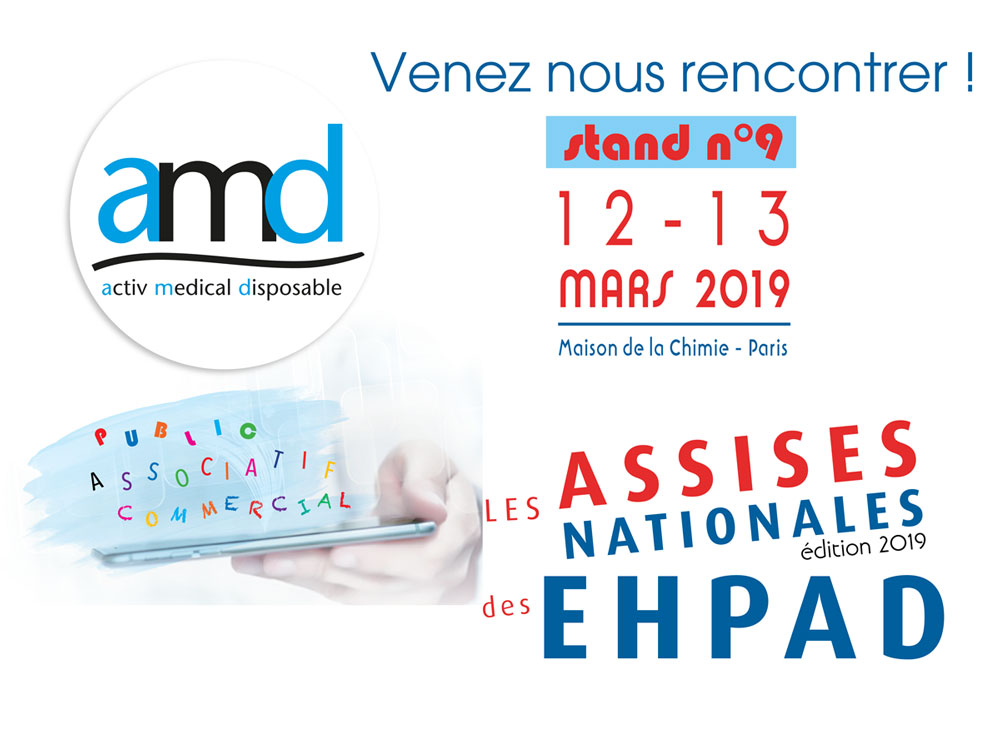 amd aux assises nationales des Ehpad 2019